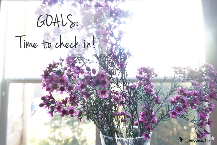 Check in on your quarter one goals