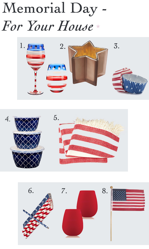 Memorial Day - Stars and stripes