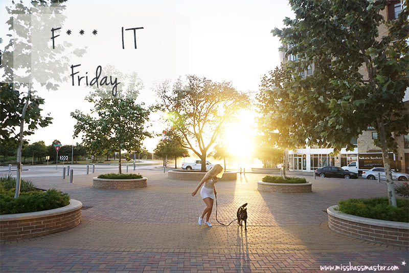 Friday Carefree be you post series